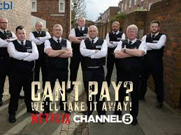 DCBL Can't pay take it away TV show