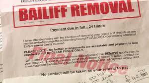 Bailiff Removal