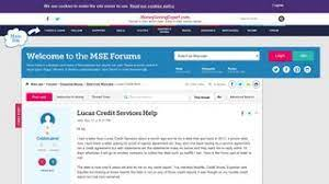 Lucas Credit Services Website